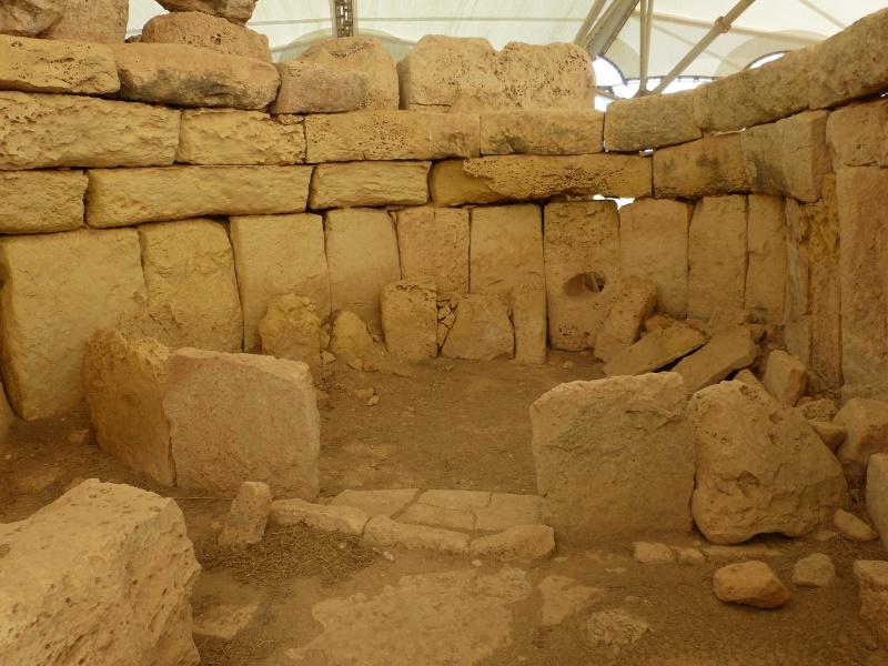 Tempelanlage um 3.000 vor Christus