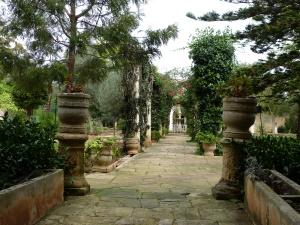 aus dem englischen Zeitabschnitt - San Anton Garden