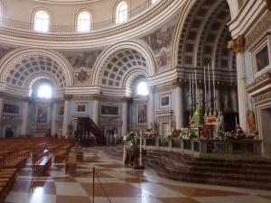 Valetta: Blick in die Co-Kathedrale der Johanniter - 1573 bis 1577 Kerngebäude