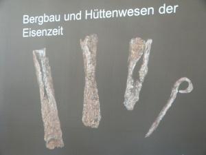 typische Produkte - Exponate u.a. in unserem Oberen Schloss