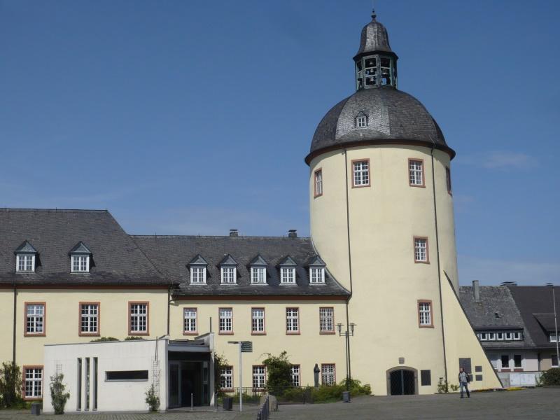 Flügel des Unteren Schlosses vor der Sanierung