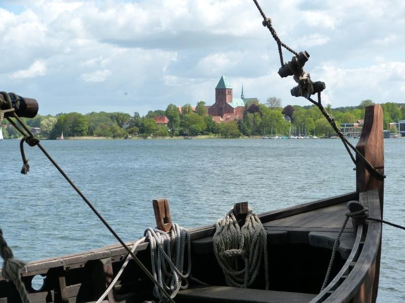 Blick über den Ratzeburger See auf den Dom