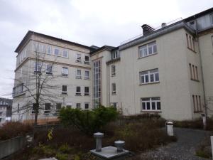 ehemaliges Stadtkrankenhaus - für die UNI umgebaut