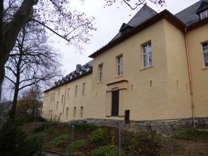 sanierte Rückseite des Schlossgebäudes