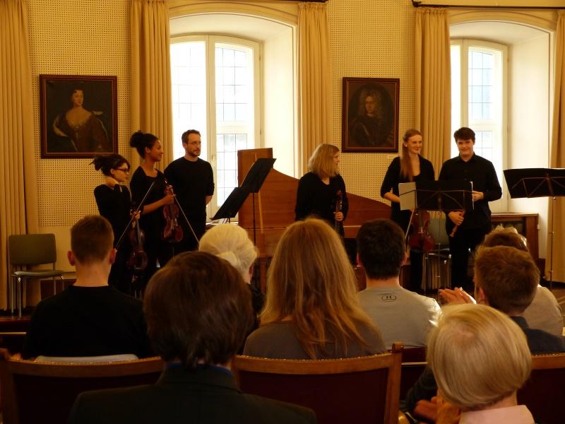 vier Tage später: Konzert im Ratssaal Siegen