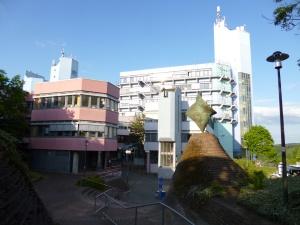 UNI-Gebäude auf dem Haardter Berg