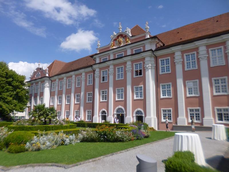 das Schloss in Meersburg - erbaut ab 1760