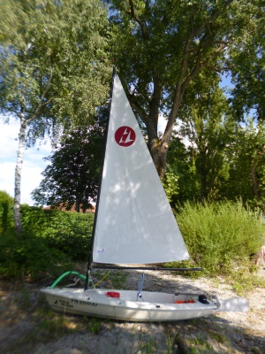 das Boot ist wieder abgebaut ... und gut verstaut