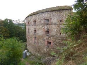 von 1817 - 1828 errichtet - zum Schutz gegen Franzosen