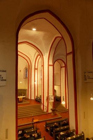 Chorraum der Nikolaikirche
