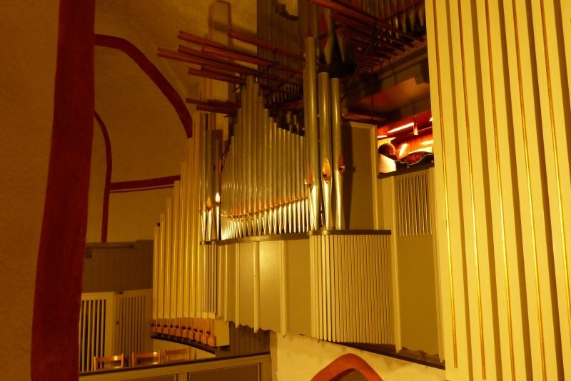 Jürge Poggel an der Orgel