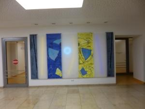 im Eingangsbereich - Arbeiten von Lutz Dransfeld
