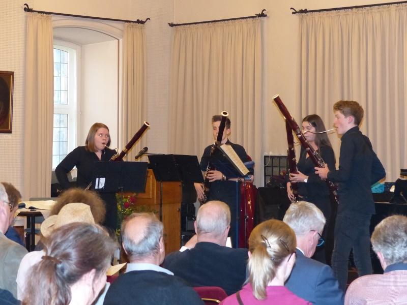 unser Fagottquartett - Hannah Voß,Lisa Grebe,MiloBosch,Johann Mathis Weber