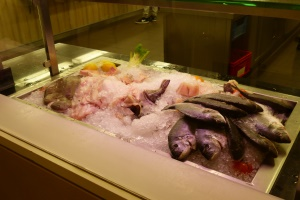frischer Fisch im Fährhaus