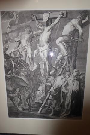 Flügel eines Altarbildes