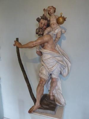 ebenfalls um 1750 ... heiliger Christophorus