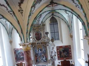 Blick in die Hauskapelle