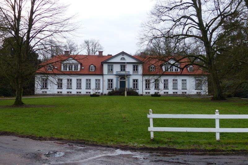Blick auf das Herrenhaus