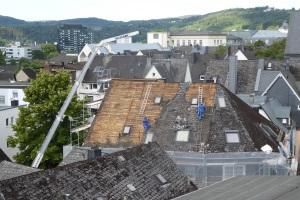 Dachsanirung in der Donzenbachstraße