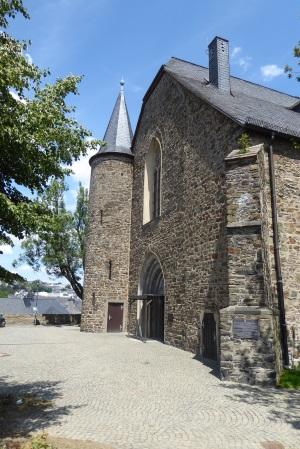 Martinikirche - direkt vor der Stadtmauer