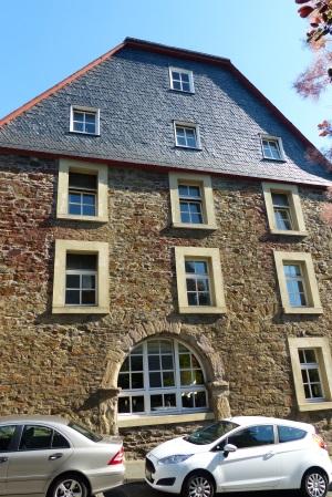 historisches Zeughaus in der Burgstraße - hier wurden die Waffen gelagert
