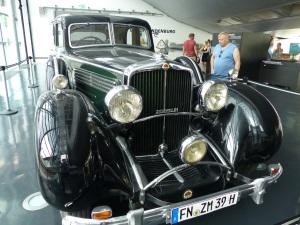 Maybach von 1938 - 12 Zilinder - 170 km/h