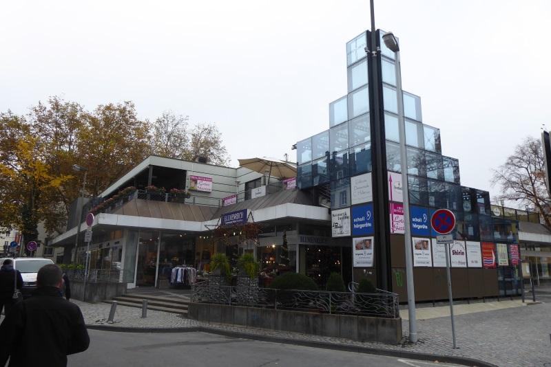 Einkaufszentrum Herrengarten - etliche Leerstände